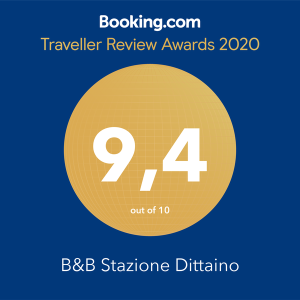 Booking Award 2020 B&B Stazione Dittaino